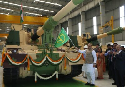 Defence Minister Rajnath Singh flags off 51st K-9 Vajra in Surat