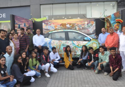 Eighth annual Dumas Art Project inaugurated in Surat