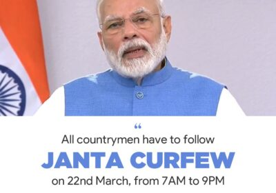 PM Modi thanks people from different walks of life for supporting the cause of Sunday's Janata Curfew
