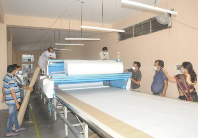 Garment cutting machine became a  boon in PPE Kits Production