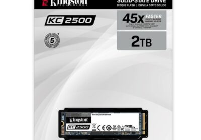 KINGSTON LAUNCHES ITS NEXT-GEN KC2500 NVME PCIE SSD IN INDIA