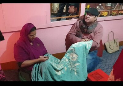 Now Kashmiri residents will work with embroidered machines, Alliance Embroiderry office opens in Srinagar