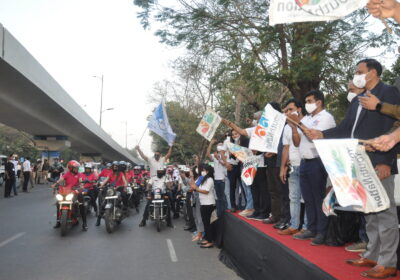 Grand road show rally organized by Youth nation- 'Say NO to drugs campaign'