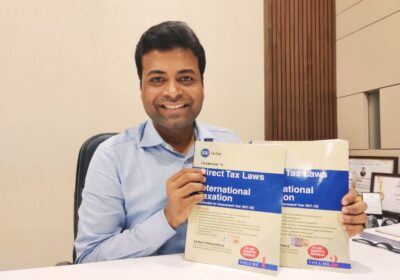 CA Ravi Chhawchharia's book on 'Direct Tax Laws and International Taxation' published by Taxmann provides a practical application of taxation.