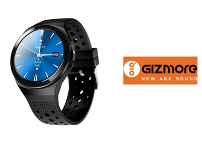 Gizmore Launches Smartwatch GIZFIT 910 with built-in speaker and handsfree calling and expands its fitness devices range.