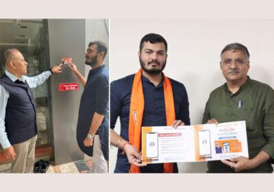 BJP's Manan Dani Spreads The Word For 'NAMO App' Through a New Drive 'Ghar Ghar Modi' In Gujarat