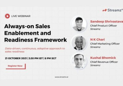 Always-On Sales enablement and Readiness Framework