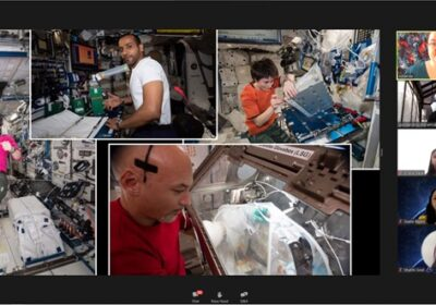 Zebar School for Children conducted a virtual tour with NASA